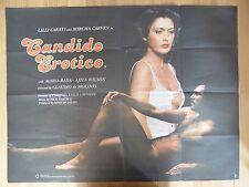 CANDIDO EROTICO (1978) - original UK quad film/movie poster, adult, erotic/sex