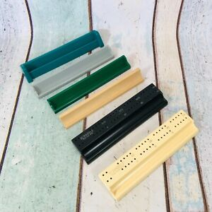 SCRABBLE TILE RACKS by SPEARS Choose different colours wood grey green etc.