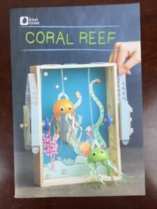 KIWI CO KiwiCo CORAL REEF Kids Craft Art Learning Kit - Ages 5+