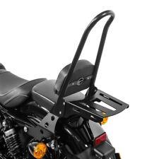 Sissy Bar + portapacchi CSL per Harley Sportster 1200 Nightster 08-12 nero