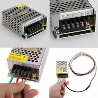 Power Supply Driver Adapter Switch AC110V-220V TO DC 5V 12V 24V LED Strip Light
