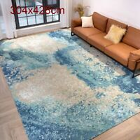 YILONG 10'x14' Large Hand Knotted Wool Carpet Home Decor Modern Handcraft Rug