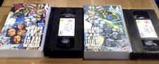 METALLICA A YEAR AND A HALF IN THE LIFE OF 2nd UK PAL VHS VIDEO 2-TAPE SET 1992