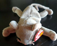 TY Beanie baby scat rere/retired 1997 plush plush toy Collection gray cat