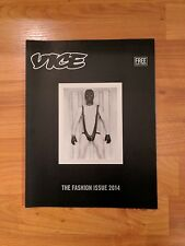 2014 VICE Magazine FASHION ISSUE, MAPPLETHORPE COVER, EARLY POLAROIDS, BOWIE