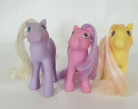 My Little Pony G1 Flutter Ponies Lot Vintage Hasbro Lily Forget Me Not Rosedust
