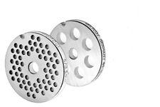 Jeu de Disques Perforés pour Hache-Viande Tailles 5/3,5mm + 10mm