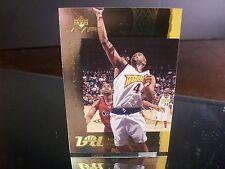 Insert Marc Jackson Upper Deck MVP 2001 Card #BD7 BASKETBALL DIARY Warriors