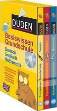 Duden Basiswissen Grundschule. Kassette Deutsch, Mathematik, Englisch von Beate