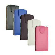 New Luxury Flip PU Leather Case Pouch Cover For Various LG Mobile Phone Models