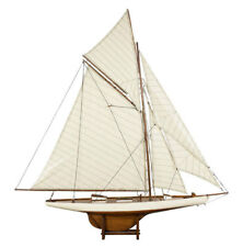 """AS076F Americas Cup Columbia 1901 Sailboat Model 45"""" Ship Authentic Models NEW"""