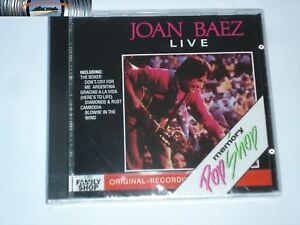 Joan Baez - Live - CD 1989- SIGILLATO