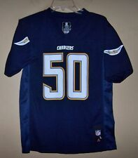 6504 Youth Boy's Large 14/16 #50 TE'O Blue SAN DIEGO CHARGERS Football Jersey