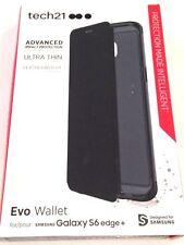 Tech21 Evo Wallet Case for Samsung Galaxy S6 Edge+ Black SUPM45747N