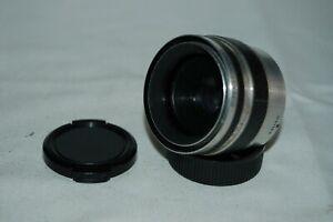 Corfield Lumax 3.5 / 45 mm Vintage Lens. 39mm Mount (M39) Caps. 821130. UK Sale