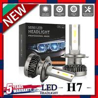 MINI H7 LED Headlight Bulbs Conversion Kit 200W 48000LM 6000K Hi/Lo Beam Lamps