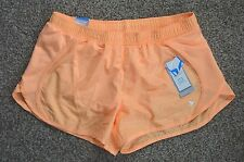 Old Navy Active Womens Neon Orange Relaxed Fit Running Fitness Track Shorts XS