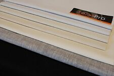 """10 M CURTAIN LINING Blackout Roll 3 Pass High Quality  54"""" / 137cm  White"""