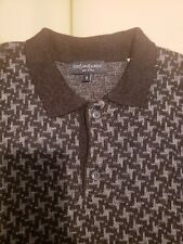YSL Yves Saint Laurent Vintage Geometric Sweater, Large