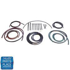 1969 Camaro Rally Sport Headlamp Vacuum Hose Kit OEM Color Coded