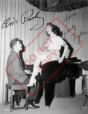 8.5x11 Autographed Signed Reprint RP Photo Elvis Presley Judy Taylor