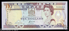 Fiji Paper Money 10 Dollars 1992 AU-UNC