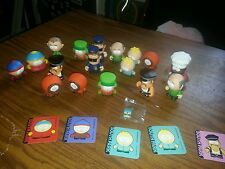 SOUTH PARK KID ROBOT MINI FIGURE COLLECTABLE LOT CARTMAN STAN CHEF