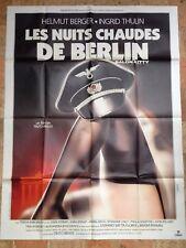 LES NUITS CHAUDES DE BERLIN  Affiche cinéma originale format 120 x 160