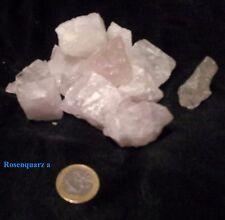 1kg/14,97€300g Rosenquarz Wasserstein Rohstein EdelsteinWasser Mineral Heilstein