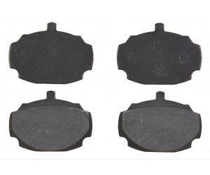 Disc Brake Pad Set-Element3; Organic Front Raybestos PGD27