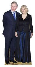 Príncipe Carlos Camilla lifesize FIGURA HUMANA DE CARTÓN DIAMOND ANIVERSARIO