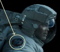 "Matt Kowalski MOVIE ""GRAVITY"" PROP STS-157 νeΙ©®⚙ INSIGNIA: APE-TO-SPACE MAN"