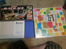 Waddingtons Rat Race Vtg Board Game 1984 Complete Social Climbers Play