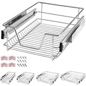Panier de rangement coulissant cuisine meuble pour placard étagère tiroir