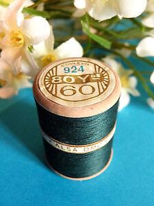 734B/Splendid Spool of Thread Alsa For Embroidery N°60 Pine Green N° 924