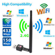 Mini 150Mbps 802.11n/g/b USB WiFi Wireless Network LAN Card Adapter w/Antenna DS