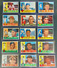 1960 Topps Baseball Card Vintage Lot of 15 Cards