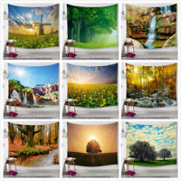 Forest tapestry Beauty Landscape Many Trees Large Wall Hanging Home Decoration