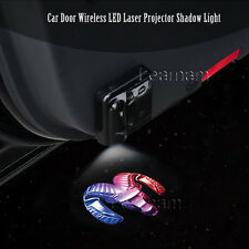 2x For Dodge Ram Logo Car Door Wireless LED Laser Projector Ghost Shadow Light