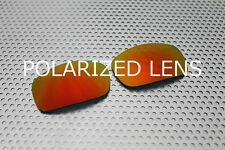 LINEGEAR Lens for Oakley X-Squared - Cardinal Red - Polarized [XS-CR-POLA]