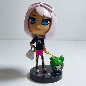 "2015 Barbie Tokidoki Mystery Minis 3"" Pink Hair with Dog Mini Vinyl Figure"