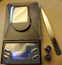 RC564 Diamond 20g x 0.001g Digital Jewelry Precision Scale & Calibration Weights