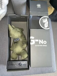 G-no Bow Tie Rhino Collectibles By G-star *rare*