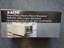 X-ACTO Electric Pencil Sharpener - 1714 BEIGE - 230V (NOT US 110V)!!!