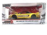 Jada Metals Die Cast JDM TUNERS 2002 HONDA NSX TYPE-R JAPAN SPEC Widebody