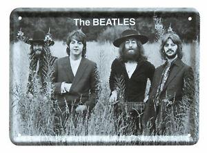 The Beatles TITTENHURST Metal Sign Steel Fridge Magnet (8cm x 11cm)