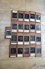 Collection of 21 Framed Glass Magic Lantern Slides Vatican Masters Paintings