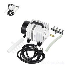 Coralife Air Compressor Super Luft Aquarim Pump Fish Tank Pond Areator High Flow