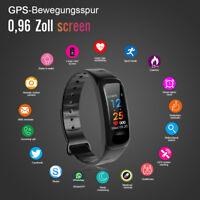 Smart Bracelet Bluetooth Armband Uhr Fitness Armband mit Pulsmesser Wasserdicht