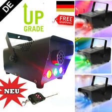 500W Nebelmaschine Nebel Smoke Fog Machine Fogger Stage Mit Fernbedienung Party